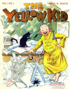 """The Yellow Kid,"" created by Richard F. Outcault (1863-1928)."