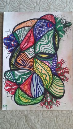 Doodle on sketchbook. Orinal by ElsaMarthinsen Art Day, Doodles, Abstract, Tattoos, A4, Beauty, Summary, Tattoo, Cosmetology
