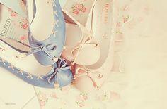 Cute Pastel Ballet Flats