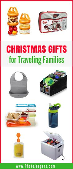 Do you need that perfect gift for those on your list who do family road trips? These are the best items to pack for a road trip with kids. These items help with comfort, safety, entertainment and eating during the road trip. We share our favorite must-have road trip products. Make sure you save this to your family travel or gift guide board so you can refer to this when you need to find that perfect gift for families who enjoy road trips! #giftguide #familygifts #christmasgifts