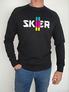 #createyourownpath #iamskier #skier Graphic Sweatshirt, Sweatshirts, Winter, Sweaters, Fashion, Winter Time, Moda, Fashion Styles, Pullover