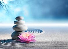 Photo about Sand, lily and spa stones in zen garden. Image of stones, relax, spirit - 53360767 Bon Weekend, Zen Meditation, Bon Week End Image, Zen Background, Art Zen, Massage Place, Face Massage, Spa Massage, Zen Space