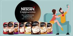 Mis cosas y  mi mundo y yo: Nueva campaña en The Insiders, Nescafé Cappuccino