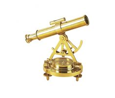 Designed for authenticity, the DecMode Telescope Compass Sculpture lends a realistic maritime touch to your space.