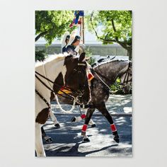 Horse Stretched Canvas by Sébastien BOUVIER - $85.00 Framed Art, Framed Prints, Horses, Stretched Canvas, Animals, Animales, Animaux, Horse, Animal