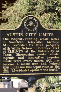Austin City Limits. Longest running music TV series in US history. Only on PBS!