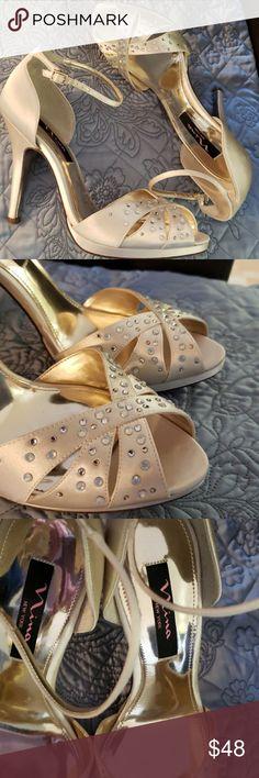 f08967b86f Nina Rhinestone Studded Stilettos Perfect for that special occasion!  Weddings