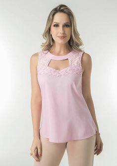 blusas viscose - Pesquisa Google Dance Outfits, Dance Dresses, Sexy Dresses, Girls Dresses, Dress Neck Designs, Blouse Designs, Cute Blouses, Basic Tops, Lace Tops
