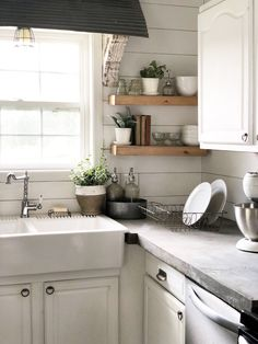Your one stop shop for everything concrete countertops. We sell concrete countertop forms, mixes, stains, sealer, and all other tools you will need to complete your job. Grey Kitchens, Home Kitchens, Kitchen Redo, Kitchen Dining, Kitchen Ideas, Home Renovation, Home Remodeling, Kitchen Remodeling, Diy Outdoor Kitchen