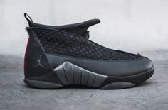 9935d442e8cee6 The Air Jordan 15 Stealth is set to make its official debut once again at  Jordan Brand stores tomorrow