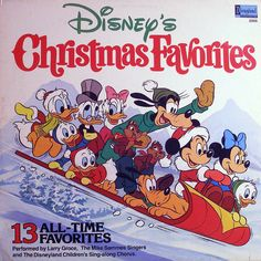 Larry Groce, The Mike Sammes Singers* And The Disneyland Children's Sing-along Chorus - Disney's Christmas Favorites: buy LP at Discogs Mickey Christmas, Christmas Albums, Christmas Past, Christmas Books, Christmas Music, Christmas Images, Vintage Christmas, Christmas Vinyl, Xmas
