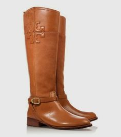 Stylish Brown Tony Burch Long Boots, For Fall and Winter, Love It..
