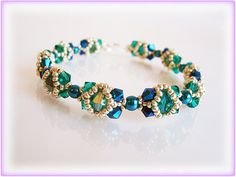 Hey, I found this really awesome Etsy listing at https://www.etsy.com/uk/listing/174704068/bleen-bracelet-beading-tutorial