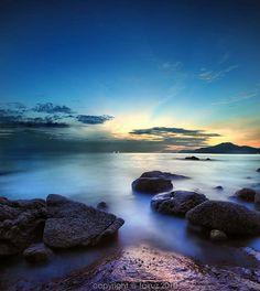 The rising sun each day