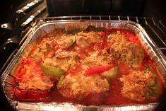 A very old Italian stuffed pepper recipe... it was dear mom's...