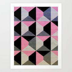 colour + pattern 9 Art Print by Georgiana Paraschiv - $18.00