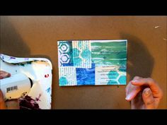 A Collage Technique: Gelli Print White Wash In this video, I show you a technique to mute the colors of a gelli print collage.