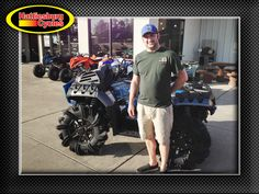 Thanks to Brandon Nixon from Hattiesburg MS for getting a 2017 Polaris Sportsman XP 1000 High Lifter Edition @HattiesburgCycles