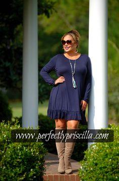 #plus #plussize #look #trendy #curvy #boutique #fashion #navy