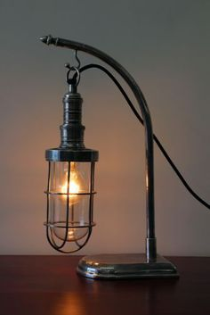 Bulk Head Desk Lamp