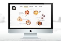 corporate design for a ficticious snackbar. on Behance