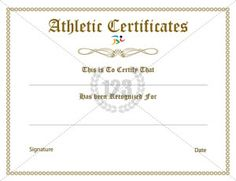 Sports certificate template sports certificate templates sports certificate archives page 2 of 2 free premium 123 certificate templates yadclub Gallery