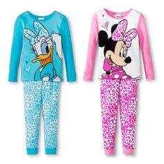 3d5a9089a9 Disney® Toddler Girls  Minnie Mouse  amp  Daphne Duck 4-Piece Mix  amp