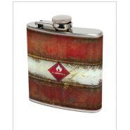 Metal Morphosis Flammable Bella Flask #dad #gift #susabelle  Susabelleboutique.com