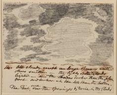 John Constable. Cloud Study.