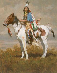 Howard Terpning Spirit Of The Plains