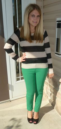 I think I need some colored skinny jeans asap!
