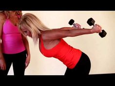 Tone underarm flab with this exercise!  No more arm jiggle!!