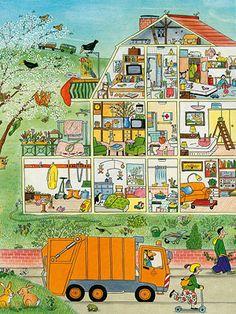 Kannst du das Haus beschreiben?