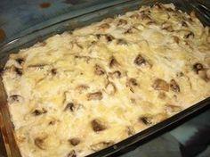 Cum puteți prepara o delicioasă budincă din carne de pui și ciuperci - Retete-Usoare.eu