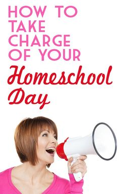 How to Take Charge of Your Homeschool Day.  Less indecision. Less grumpiness trying to think while everyone talks at once.