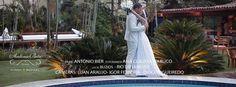 Filme Antonio Bier com fotografia de Ana Claudia Nabuco e cerimonial de Véu e Grinalda noivas em Mansão Espelho d'água Búzios