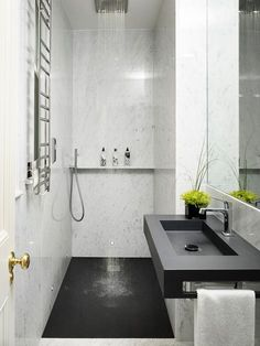 Best Small Bathroom Ideas - Bathroom Designs for Small SpacesLose the bathtubConcrete and wood textures Bathroom Bathroom Inspo Bathroom renovation .Concrete and wood textures bathroom bathroom inspo bathroom renovations bathroom . Wet Room Bathroom, Ensuite Bathrooms, Bathroom Renovations, Bathroom Interior, Master Bathroom, Bath Room, Compact Bathroom, Bathroom Mirrors, Bathroom Cabinets