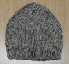 Regular Guy Beanie – Free Beanie Knitting Pattern – Excerpts From My Cranium Beanie Knitting Patterns Free, Beanie Pattern Free, Knit Patterns, Free Knitting, Free Pattern, Knitting Looms, Beginner Knitting Patterns, Sock Knitting, Knitting Tutorials