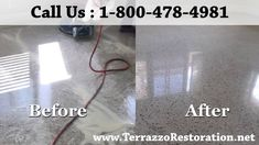 How to Polish Terrazzo Floors Services in Palm Beach Terrazzo Flooring, Concrete Floors, Floor Care, Fort Lauderdale, Palm Beach, Restoration, Polish, Vitreous Enamel, Nail Polish