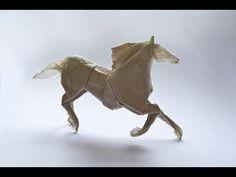Origami Pegasus by Hojyo Takashi (part 1 of 2)- Yakomoga Origami tutorial - YouTube