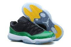 wholesale dealer 24fae dcfd1 Find Nike Factory Air Jordan Retro 11 Xi Shoe Green White Yellow Bottom Shoe  online or in Nikelebron. Shop Top Brands and the latest styles Nike Factory  Air ...