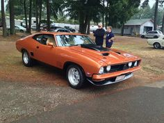 The 1973 Ford Falcon XB GT! - Apple Slipper - Google+ Australian Muscle Cars, Aussie Muscle Cars, Old School Muscle Cars, Ford Torino, Best Classic Cars, Ford Falcon, Ford Gt, Cars And Motorcycles, Cool Cars