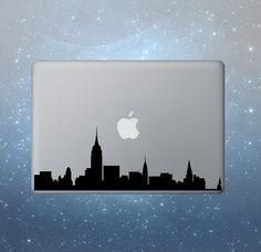 New York macbook decals macbook sticker decals macbook pro air apple vinyl, $6.95