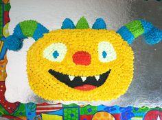 Henry Hugglemonster cake. It's roarsome!