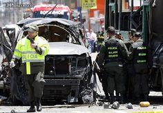 Cali y el Valle del Cauca se blindan ante eventuales atentados terroristas  Las autoridades policiales y militares se encuentran en alerta ante amenazas en rechazo de la entrada en vigencia del TLC. Comandante de la Policía pidió prudencia a la comunidad.