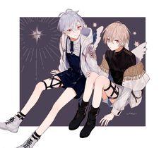 Kawaii Drawings, Cute Drawings, Anime Style, Cute Anime Character, Character Art, Anime Manga, Anime Art, Anime Boy Zeichnung, Anime Siblings