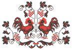 Значение цветов и символов в украинской вышивке/ Петух - это символ счастья, мужского здоровья и богатства. Вышивая молодым рушники с изображением петуха, матери с обоих сторон желали молодой паре счастья, здоровья, трудолюбия и процветания. Соколы, петухи и голуби символизируют молодожёнов. На свадебных рушниках птицы всегда располагали головами друг к другу. Они либо держат в клювиках ягоду калины (символ женского начала и любви), либо сидят у корней дерева, символизирующем рождение новой…