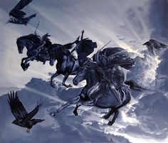 Ride of the Valkyries Norse Pagan, Old Norse, Norse Mythology, Viking Warrior, Viking Art, Ride Of The Valkyries, Richard Wagner, Viking Tattoos, Norse Vikings
