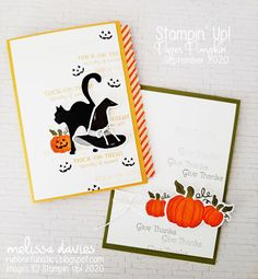 RubberFUNatics: Paper Pumpkin Thing September Blog Hop - Hello Pumpkin