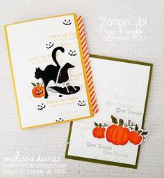 RubberFUNatics: Paper Pumpkin Thing September Blog Hop - Hello Pumpkin Halloween Cards, Halloween Pumpkins, Fall Halloween, Diy And Crafts, Paper Crafts, Stampin Up Paper Pumpkin, Pumpkin Cards, Fall Cards, Stampin Up Cards